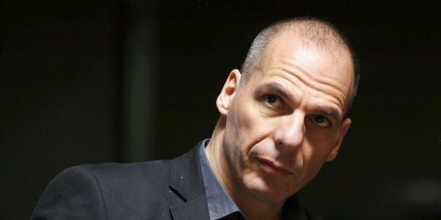 Yanis Varoufakis, en 2015, cuando aún ers ministro de Finanzas en