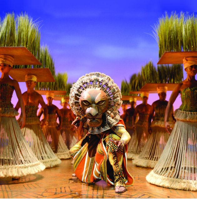 Escena de The Lion King - International