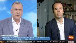 El periodista de ABC que acusa a Sánchez de plagiar su tesis insiste en TVE: