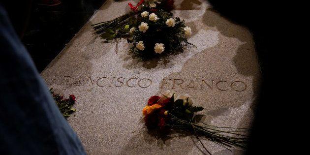 La tumba del dictador Francisco Franco, en El Valle de los Caídos, en una imagen de