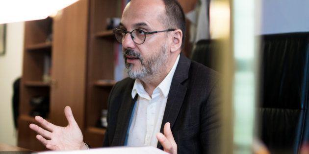 Carles Campuzano, en una reciente entrevista con 'El