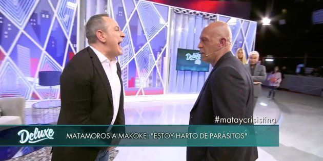 Víctor Sandoval y Kiko Matamoros se enfrentan en 'Sábado