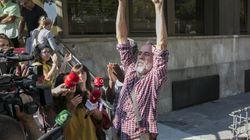 Willy Toledo queda en libertad provisional sin fianza y sin ninguna medida
