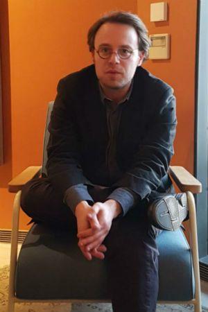 El escritor estadounidense Joshua