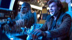 'Han Solo: Una historia de Star Wars' y llena de