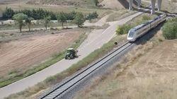 Teruel: donde los tractores van más rápido que los trenes