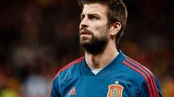 El gesto de Piqué al ser sustituido en el España-Argentina que más ha dado que
