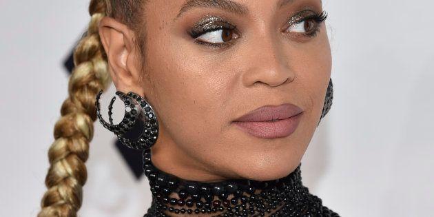La cantante Beyoncé, en octubre de 2016, en Nueva York (EE