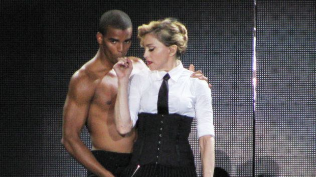 Madonna y su novio Brahim