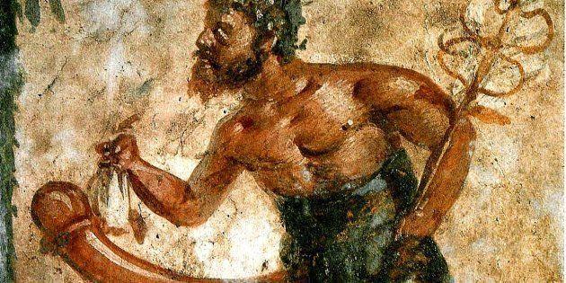 Imagen de Príapo, un dios romano maldecido con un pene