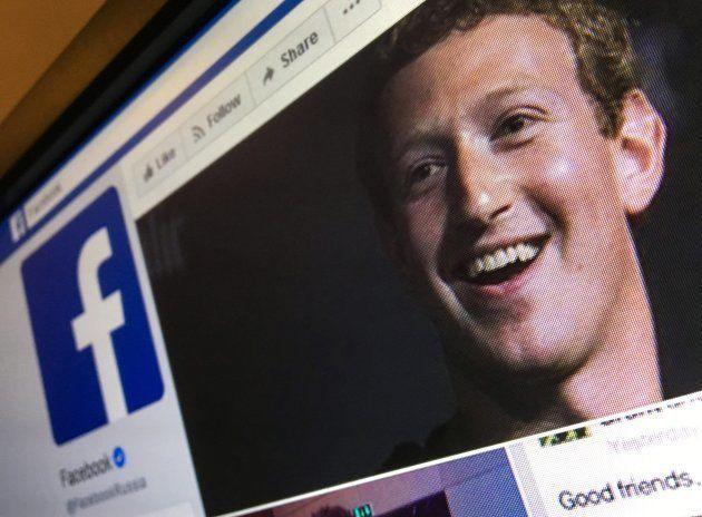 Una imagen de Mark Zuckerberg, fundador de