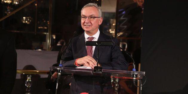 Josep Baselga, en un acto solidario en Nueva York, en noviembre de