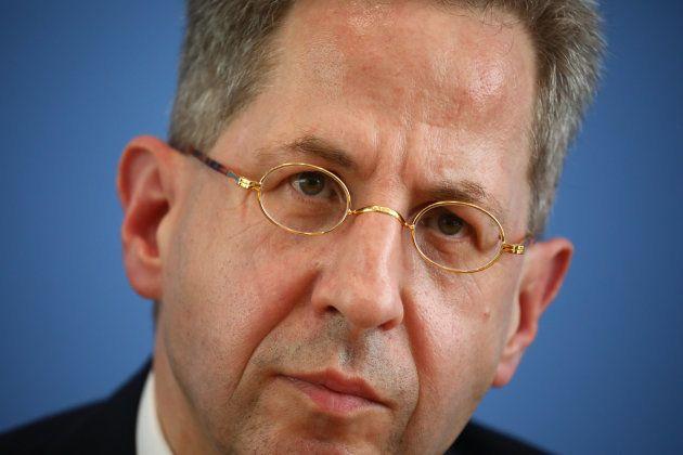 Hans Georg Maassen, durante una rueda de prensa en Berlín, el pasado 28 de