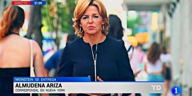 Almudena Ariza ('Telediario TVE') muestra lo que no se vio en pleno
