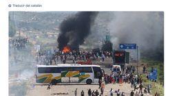 La foto de las protestas de los CDR que no te debes