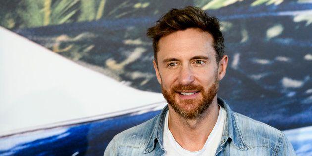 David Guetta en la presentación de su nuevo álbum de estudio, el 12 de septiembre en