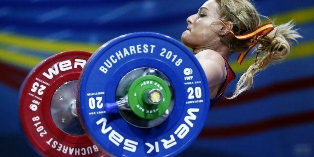 Lydia Valentín, campeona de Europa de