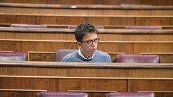 Errejón, objeto de bromas tras conocerse que Irene Montero y Pablo Iglesias serán