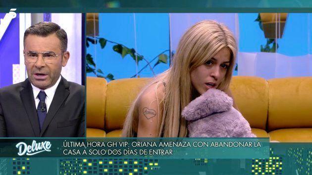 Oriana abandona 'GH VIP 6' a las 48 horas de haber empezado el