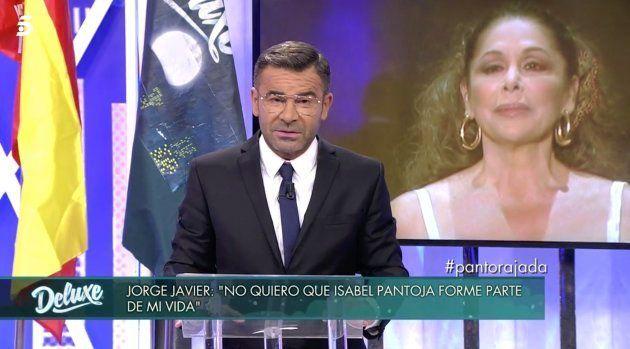 Jorge Javier Vázquez responde a Isabel Pantoja en 'Sábado