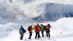 Tres esquiadores españoles mueren por un alud en
