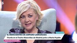 Amparo Larrañaga recuerda a su padre en 'Viva la vida':