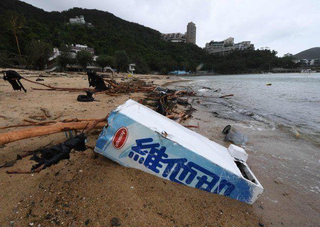 Las zonas costeras, de las más afectadas tras el paso del tifón