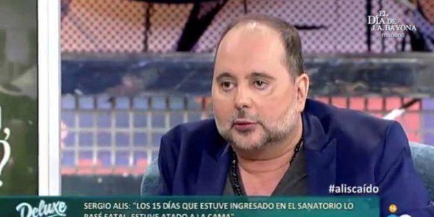 Sergio Alis vuelve a 'Sábado Deluxe' tras haberse cosido la lengua para