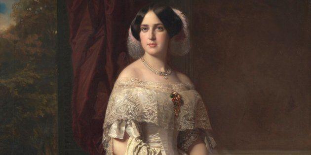 Alicia Koplowitz dona el cuadro 'Josefa del Águila Ceballos, luego marquesa de Espeja' al Museo del