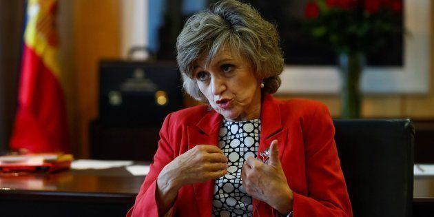 La nueva ministra de Sanidad, Consumo y Bienestar Social, María Luis