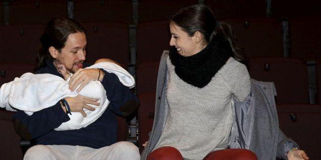 Pablo Iglesias e Irene Montero en una imágen de archivo