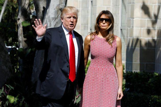 El sorprendente vestido de Melania Trump que ya se ha agotado en las