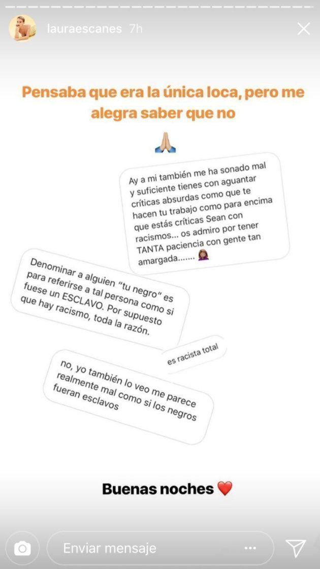 La respuesta de Laura Escanes al comentario más ofensivo en