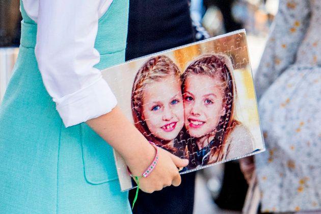 El curioso regalo que recibieron Leonor y Sofía en la Misa de