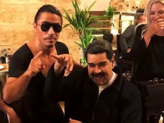 Captura del vídeo de la cena de