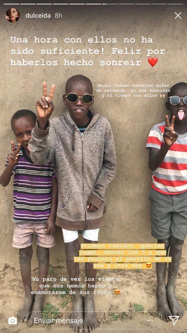 Dulceida, sobre sus fotos en Sudáfrica: