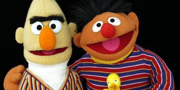 Blas y Epi, en una imagen promocional de 'Barrio