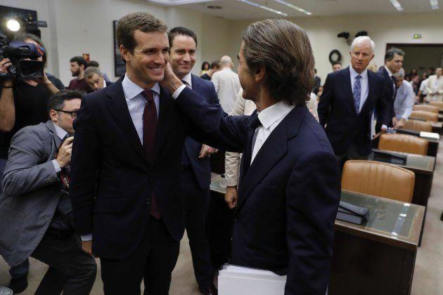 Dentro de la comparecencia de Aznar: el