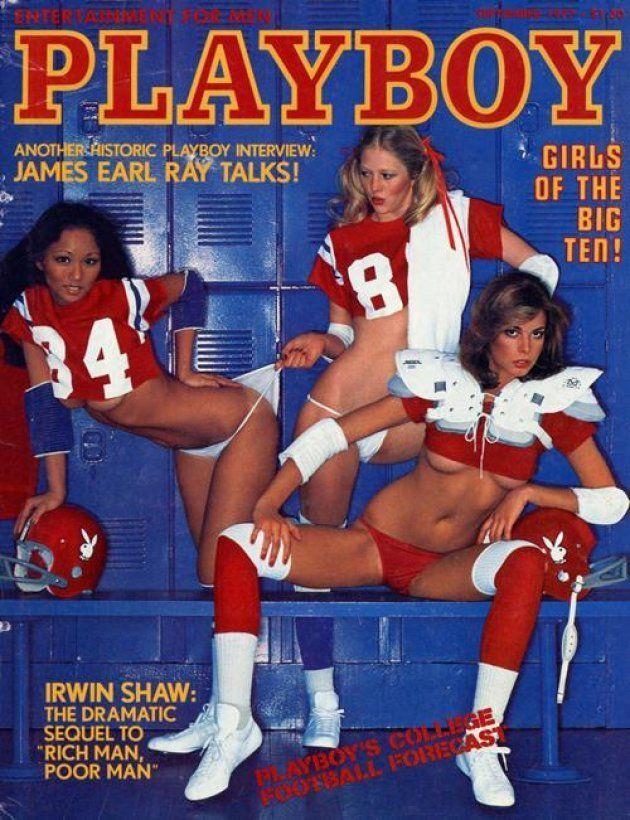 Portada de la revista 'Playboy' de septiembre de 1977, con la entrevista a James Earl