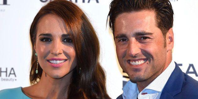 Imagen de archivo del cantante David Bustamante y la actriz Paula Echevarría, durante un evento el 22...