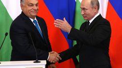 Orbán exhibe su amistad con Putin en medio de las presiones de la UE a
