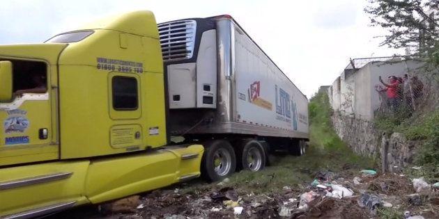 Uno de los camiones
