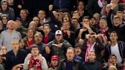 El golpe a un jugador del PSG en la Champions impacta en las redes sociales (y en el