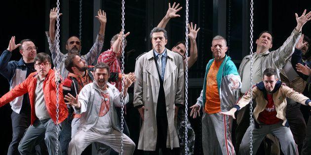 'Policías y ladrones' espera un acuerdo entre el Teatro Real y la Zarzuela para salir a