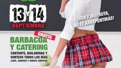 Denuncian a un club de 'show girls' de Lleida por publicidad con una chica vestida de