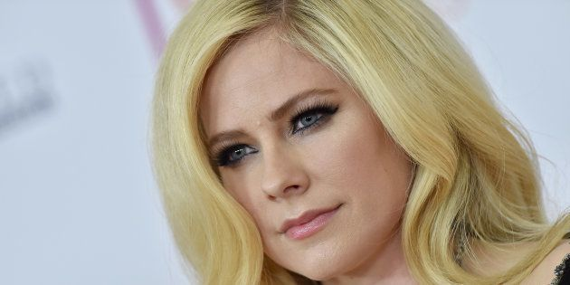 La cantante Avril Lavigne en Beverly Hills,