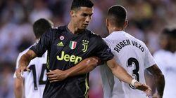 Ronaldo se marcha llorando tras ser expulsado en el