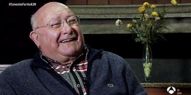 Manuel Charlín se parte de risa al recordar las palizas que retrata