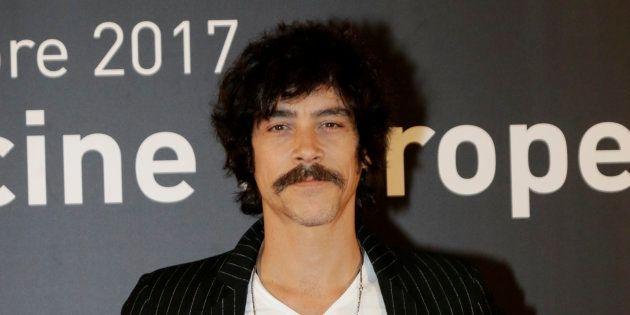 El actor Óscar Jaenada, durante la promoción de la película 'Oro' en el festival del cine europeo de...