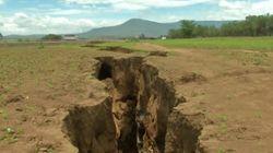La grieta que demuestra que el continente africano se está partiendo en